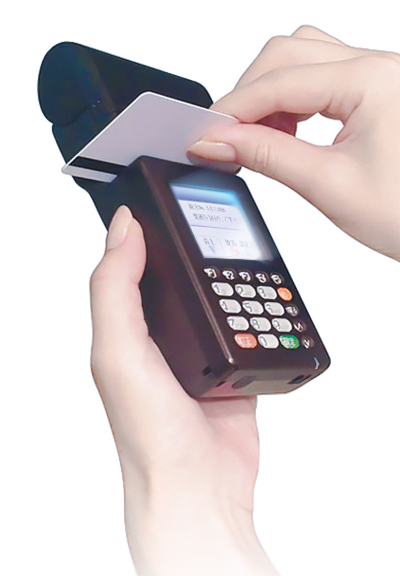クレジットカード決済用モバイル端末のレンタルをご用命ください