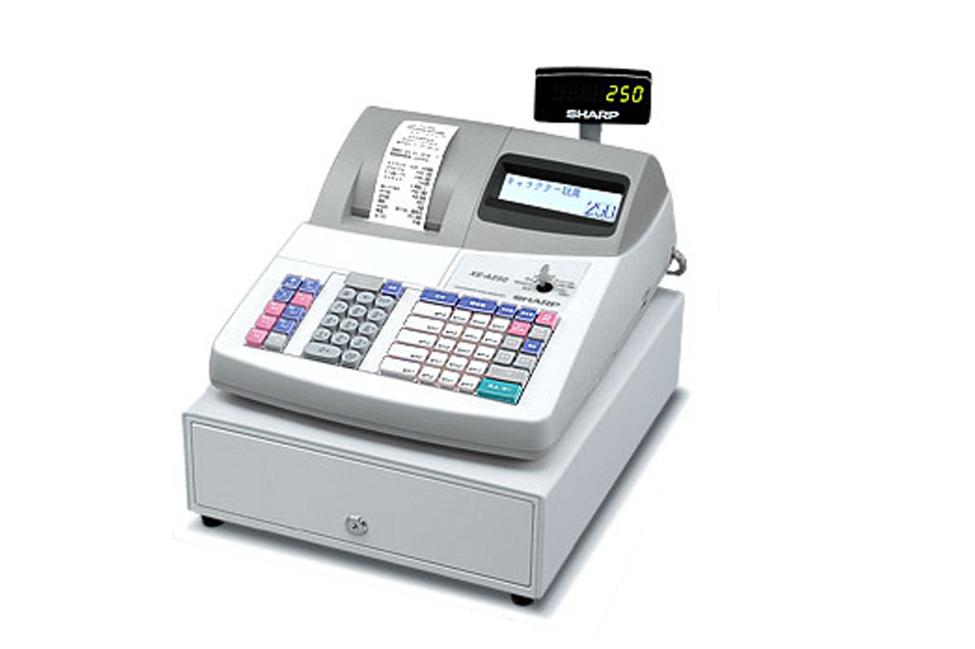XE-A250 簡易レジスターのレンタル
