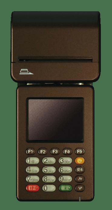 モバイル型クレジットカード決済端末TM-P1000