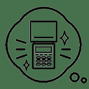 CAT(クレジットカード決済端末)ご利用の流れ