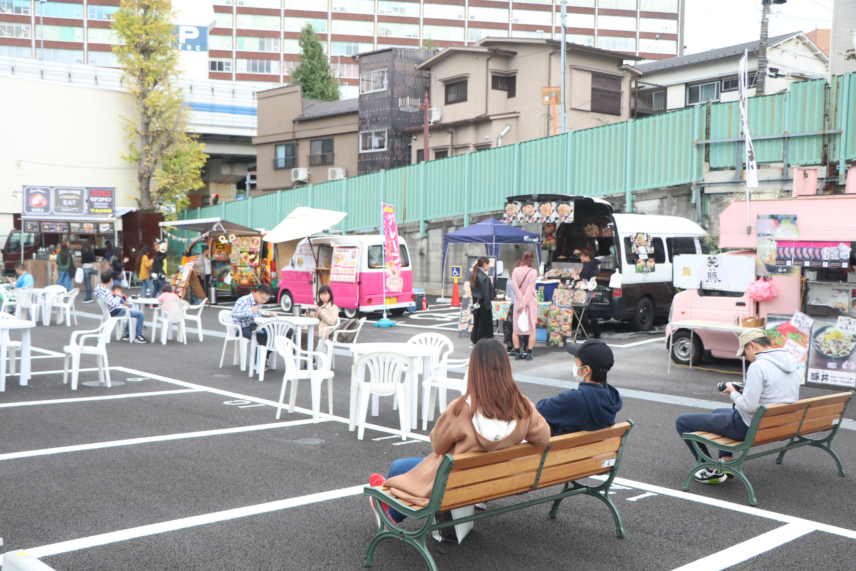 TOKYO OUTLET WEEK クラウドレジスター設置現場