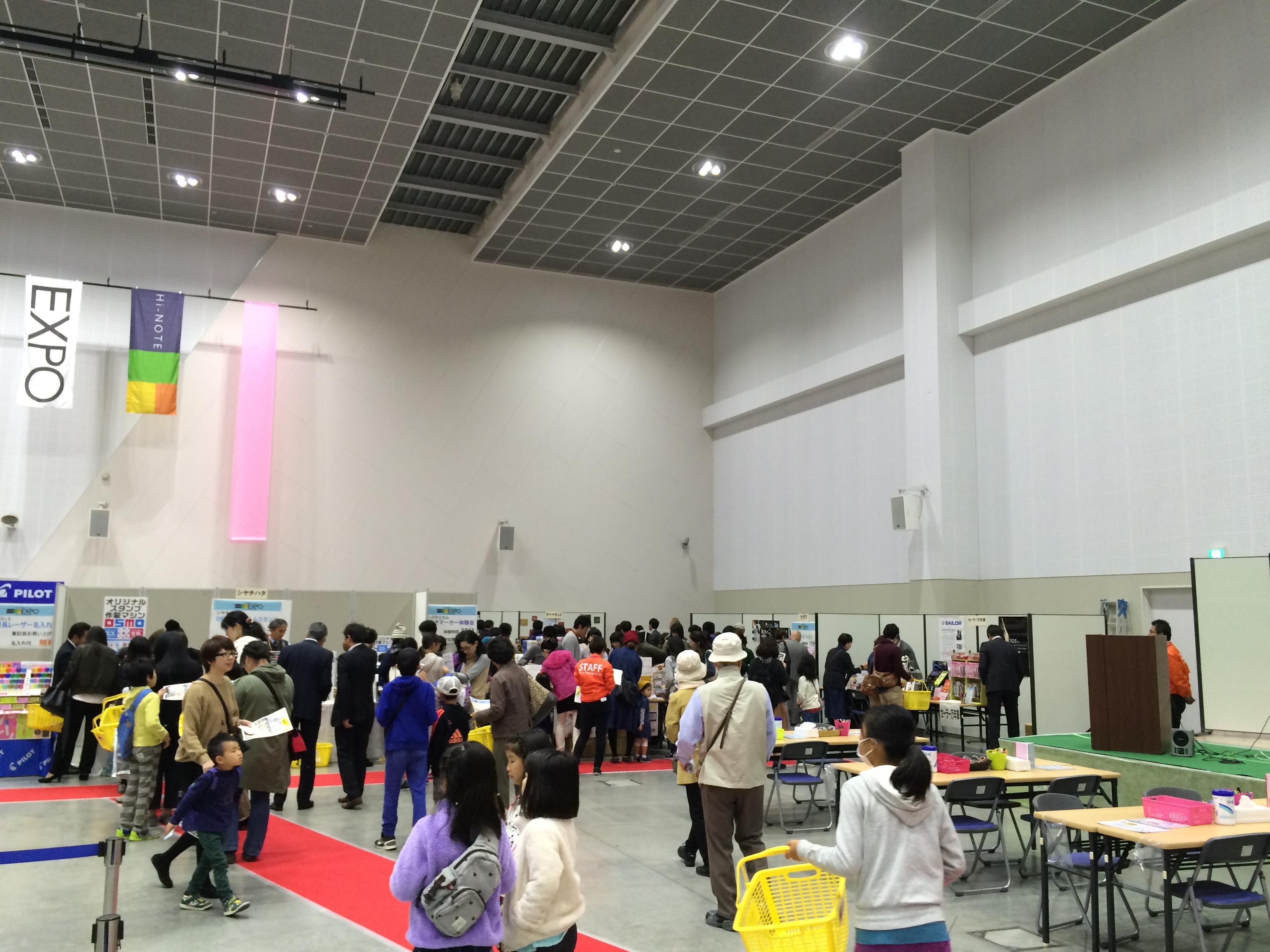 Hi-NOTE EXPO 2016 レンタルレジスター設置現場
