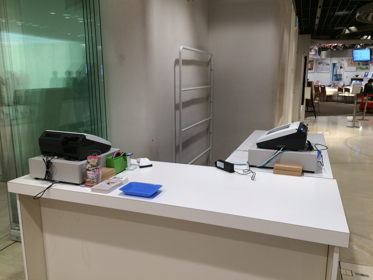 コクヨハク2017 レジ設置現場