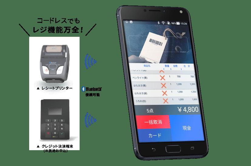 Tabレジ 1D Smart