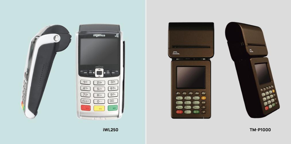 クレジットカード決済端末iWL250,TM-P1000